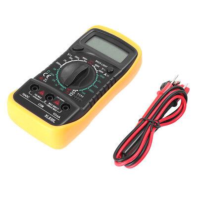 Voltmeter Ammeter Ohmmeter Digital Multimeter Ac Dc Volt Tester Xl-830l Lcd