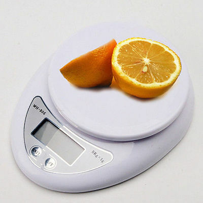5kg 5000g/1g Digital Electronic Kitchen Food Diet Postal Scale Weight Balance US