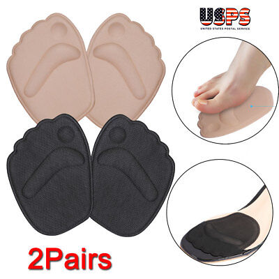 Forefoot Pad (2 Pair Forefoot Cushion Half Insoles Anti-Slip High Heel Shoe Pads  )