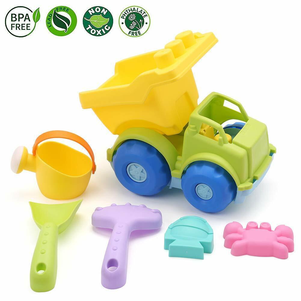 Dump Truck Beach Toys Car Vehicle Set for Kids Toddler Baby