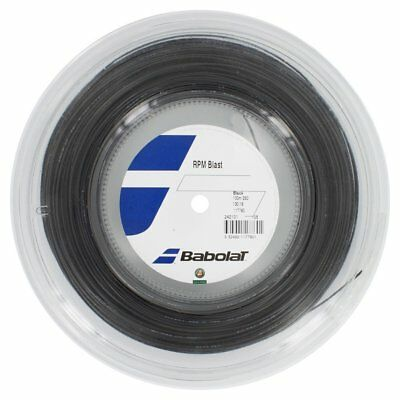 Babolat RPM Blast 16G 1.30mm (black) 330ft 100m Reel Tennis String for sale  Ireland