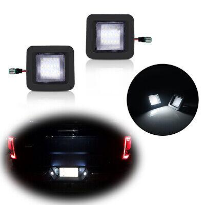 18-SMD White LED License Plate Light Kit Assembly For Ford F150 Raptor 2015-2018