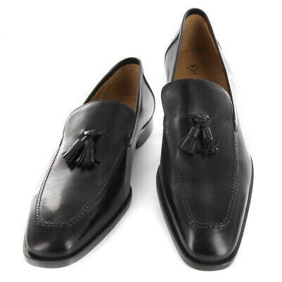 Nuevo Sutor Mantellassi Zapatos Negros - Mocasines - 11.5/10.5 - (SM5102844113)