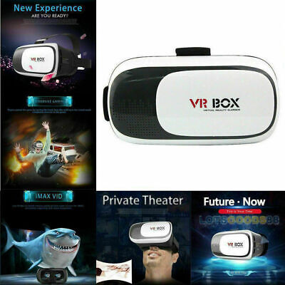 NEW Virtual Reality VR Headset 3D Glasses Goggles With Remote for iPhone Samsung