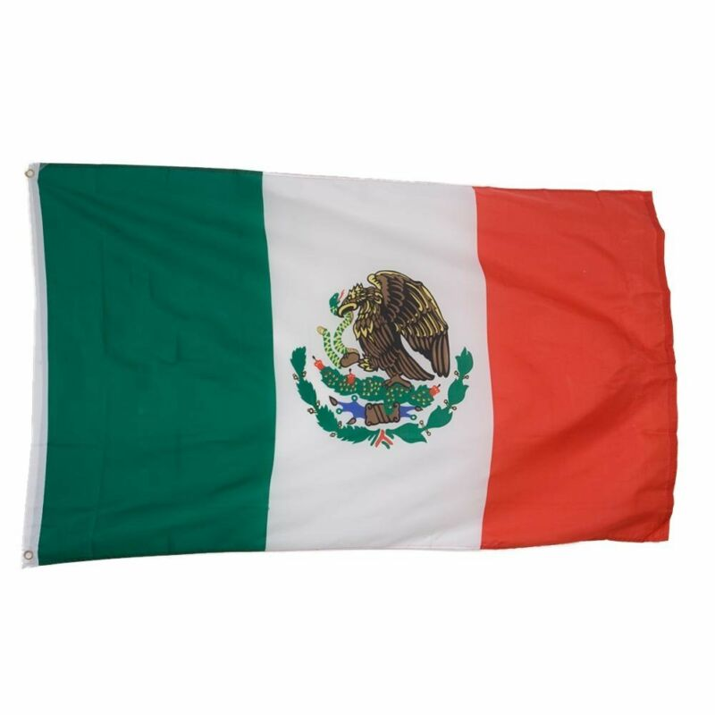 Mexico Country Flag/Banner Size 3