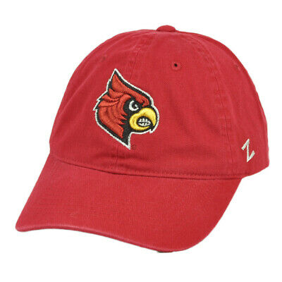 NCAA Zephyr Louisville Cardinals Relaxed Red Hat Cap Sun Buckle Curved Bill  for sale  Shipping to Canada
