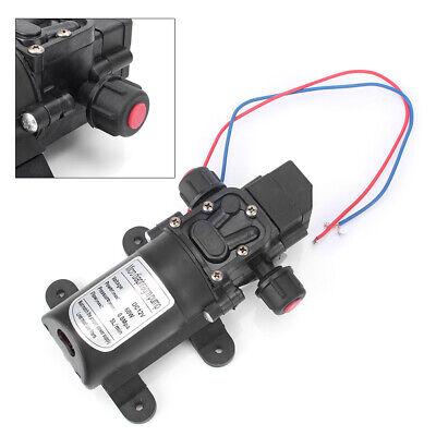 Plastic Mini Micro Diaphragm High Pressure Water Pump Automatic Switch Dc12v 60w