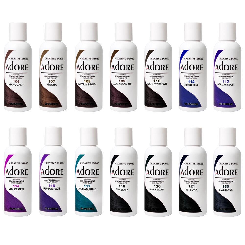 Adore Shining Semi Permanent Hair Color Creative Image