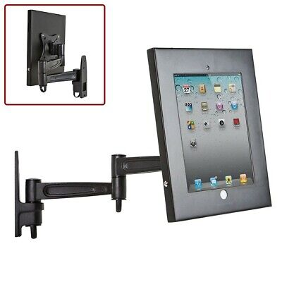 Wall Mount Display Lazy Stand Holder Bracket 360° Rotation For iPad 1 2 3 4