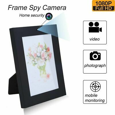 HD1080p Home Photo Frame Camera SPY Hidden Recorder Cam Nanny Picture Security
