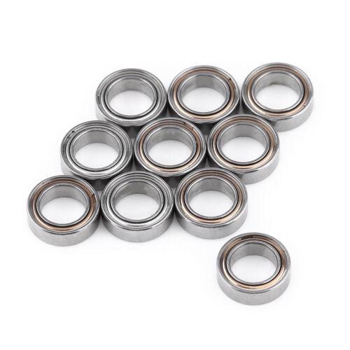 5//10PCS MR52 MR62 MR85ZZ 2x5x2.5//2x6x2.5//5*8*2mm Shielded Flanged Ball Bearings