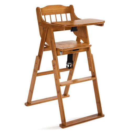 baby high chair bamboo stool infant feeding
