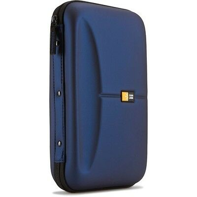 Case Logic Eva Media Wallet Heavy Duty 72 Cd Dvd Wallet Cde 72 Blue