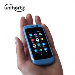 Unihertz Jelly Pro, Smallest 4G Smartphone Mini Tiny Unlocked Cell Phone JPRO-02