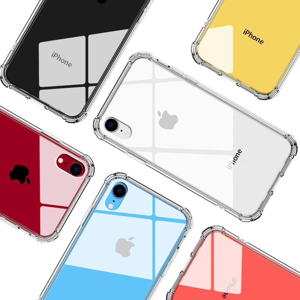 TPU Shockproof Bumper Clear Slim Silicone Protective case iPhone XS X XS MAX XR Cases, Covers & Skins