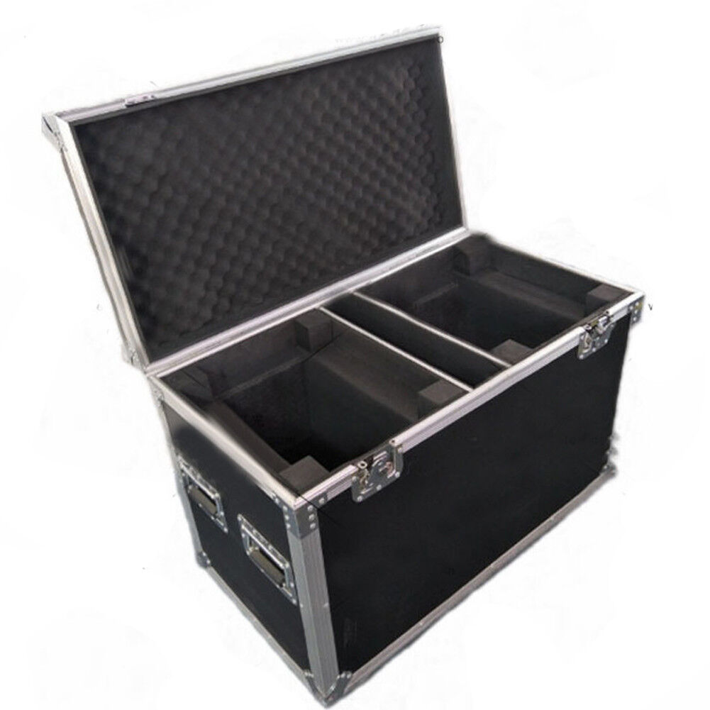 Flight Case 200w/230w 7R Beam Moving Head Lights Dual With Wheels - $236.99