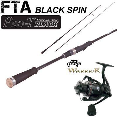FTA Black Spin45  2,10m 15-45g + FOX RAGE WARRIOR 2500