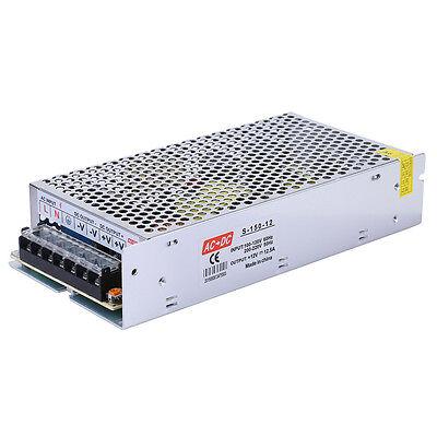 Dc 12v 12.5a 150w Switch Power Supply Voltage Transformer For Led Strip Lights