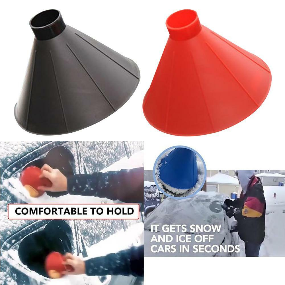 Outdoor Funnel Windshield Magic home Snow Remover Car Tool Ice Scra#00