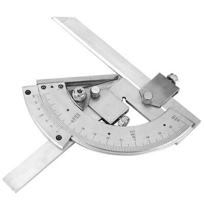 Universal Bevel Protractor 320 Angular Dial Carbon Steel Precision Angle Gauge