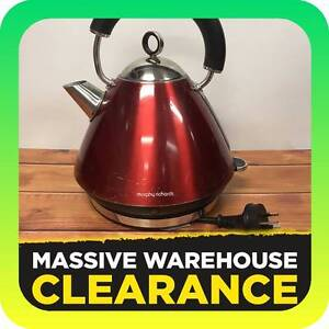 Morphy Richards Accents Traditional Kettle 1.5L Red Tullamarine Hume Area Preview