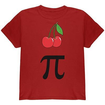 Halloween Math Pi Costume Cherry Day Youth T Shirt (Halloween Math)