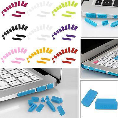 "Silicone Anti-dust Plug Port Cover For Macbook Air Pro Retina 11""/13""/15"" Laptop"