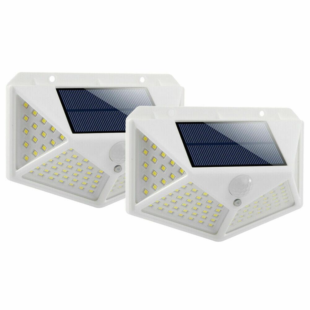 Waterproof 100 LED PIR Motion Sensor Solar Power Outdoor Garden Lamp Yard Light 1