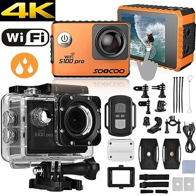 Soocoo S100 Pro 4K Wifi 30M Gps Gyro Touch Screen Sports Camera Action Cam Dv