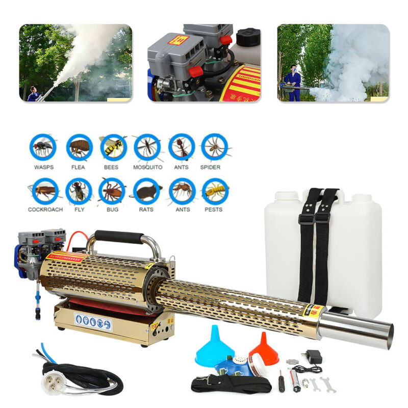 15L Portable Thermal Fogger Disinfection ULV Sprayer Mosquito Killer Farm Office