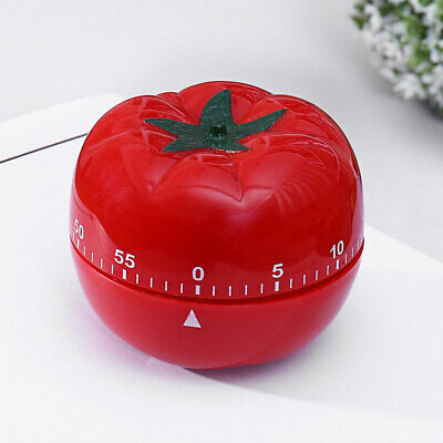 Cute Kitchen 1-55 Minute Cooking Tool Tomato Shape Mechanical Countdown Timer Home & Garden