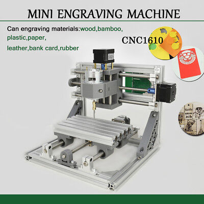 3 Axis Cnc Router Mini Carving Machine 1610 Pcb Milling Wood Bamboo Plastic