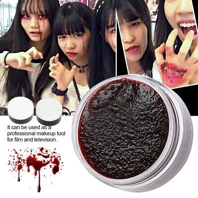 Face Body Paint Oil Fake Clot Blood Gel Vampire Scars Halloween Bruises makrup - Halloween Face Paint Fake Blood
