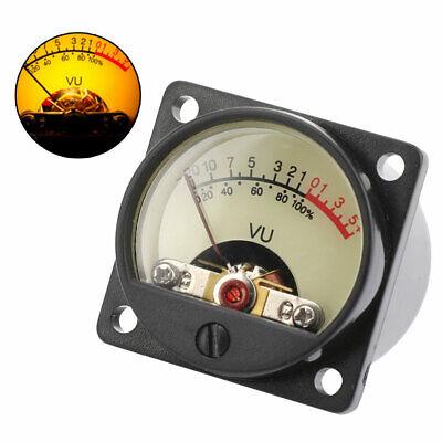 High- Panel Vu Meter Power Amplifiers Audio Db Level Header Backlight