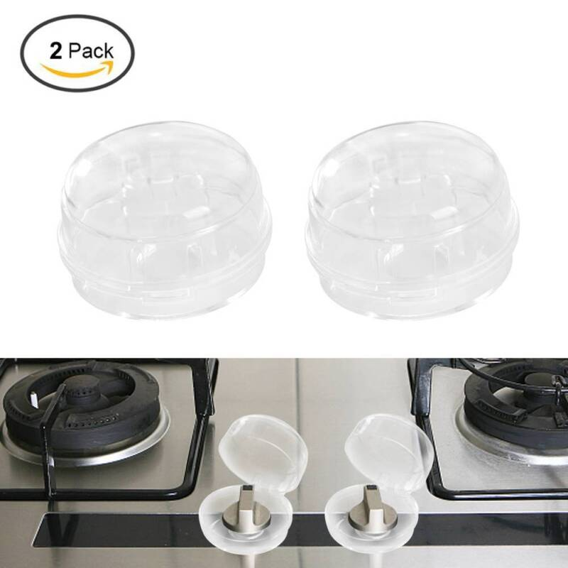 Kids Safety 2Pcs Home Kitchen Stove And Oven Knob Cover Protection  PVFDUS