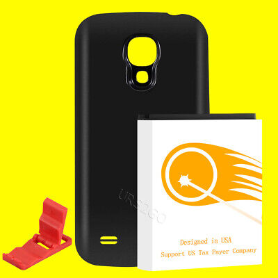 Long Life 8300mA Replacement Extended Battery + Back Cover for Samsung Galaxy (Long Life Battery For Samsung Galaxy S4)