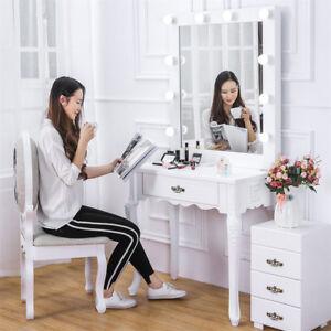 Professional Vanity Table & Mirror Set For Make Up Dressing Salon Studio Theatre