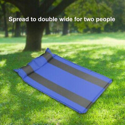Self-Inflating Camping Air Mat Mattress Pad Pillow Hiking Sl