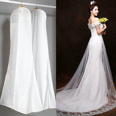 Bridal Garment (Wedding Dress Bridal Gown Garment Dustproof Breathable Cover Storage Bag Large )