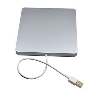 HOT USB External Slot In DVD RW Case CD Drive Burner Superdrive For PC MacBook