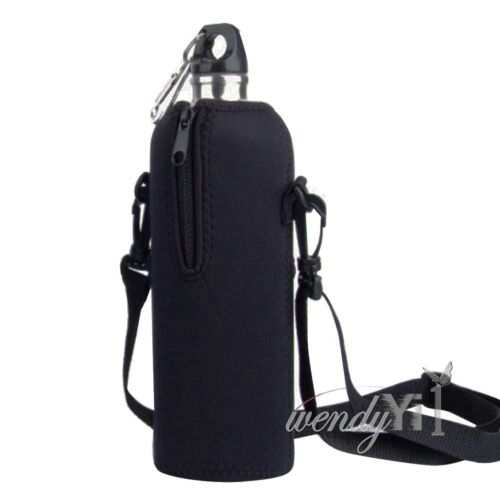 1l Water Bottle Carrier Insulated Cover Case Pouch Bag
