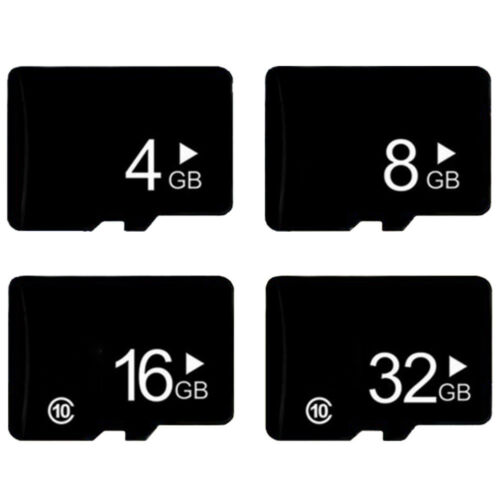 4GB/8GB/16GB/32GB Mini SD SDHC TF Flash Memory Card Fast Class10 + SD Adapter