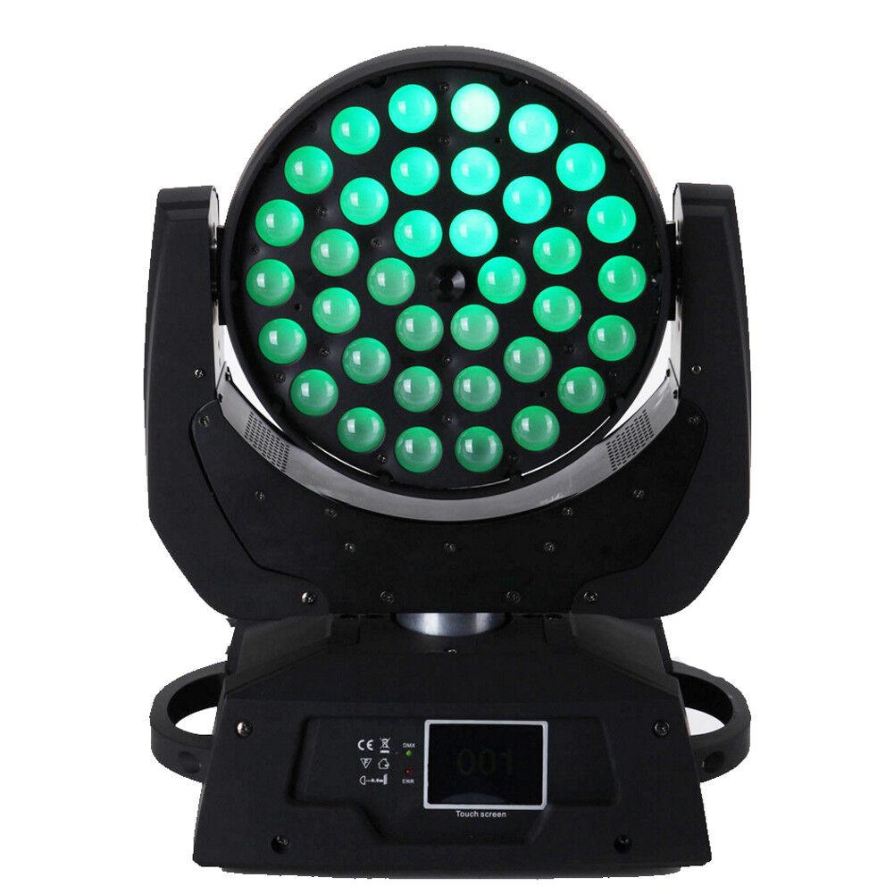 36 X10W RGBW Moving Head Light Zoom LED DMX 16Ch 360w Party Stage Wedding 12PCS - $2,794.90