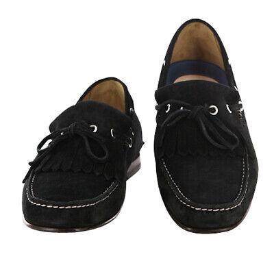 Sutor Mantellassi Zapatos Negros Talla 8 ( Ee. Uu. ) / 7...
