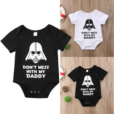 Star Wars Kinder Kleidung (Star Wars Neugeborene Kleinkinder Baby Jungen Mädchen Body Strampler Kleidung)