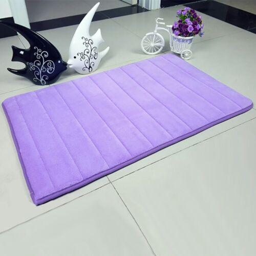Weiche Memory Foam Home Bad Schlafzimmer Badematte Boden Teppich Non Slip s M3I2