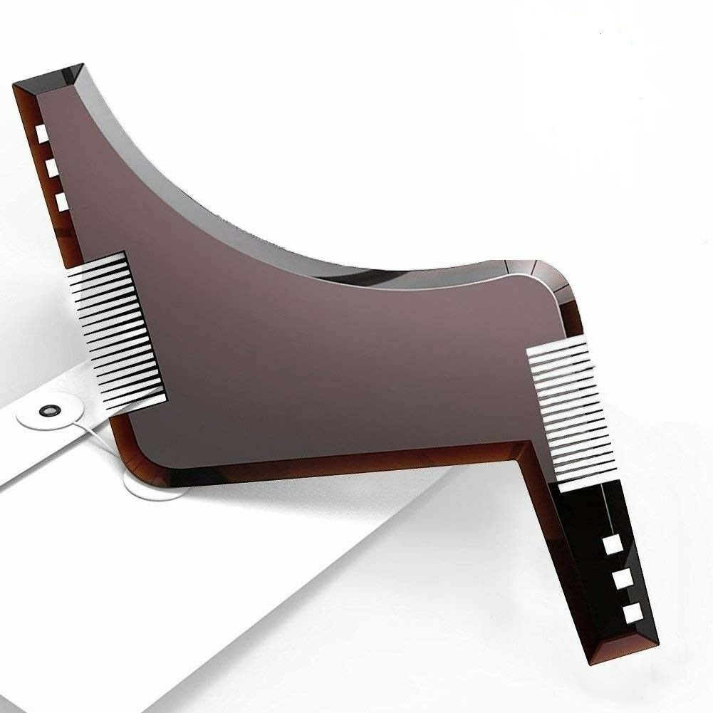 New Beard Styling Grooming Trimmer Template Shaping Tool For Men gift Clippers & Trimmers