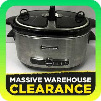 KITCHENAID KSC6222 Artisan Slow Cooker RRP $229 Tullamarine Hume Area Preview