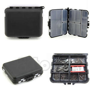 Fishing Lure Bait Tackle Waterproof Storage Box Bag Case With 26 Compartments