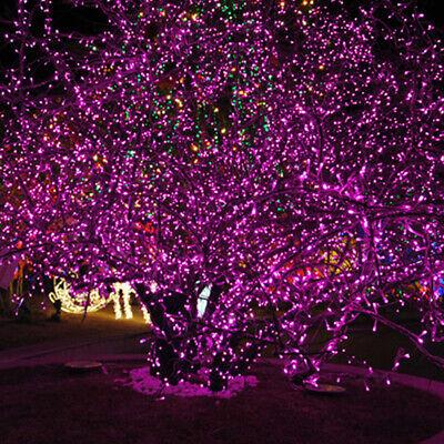 Luz Led Impermeable Cadena de Luces Fiesta Boda Decoración Navidad Exterior Rosa
